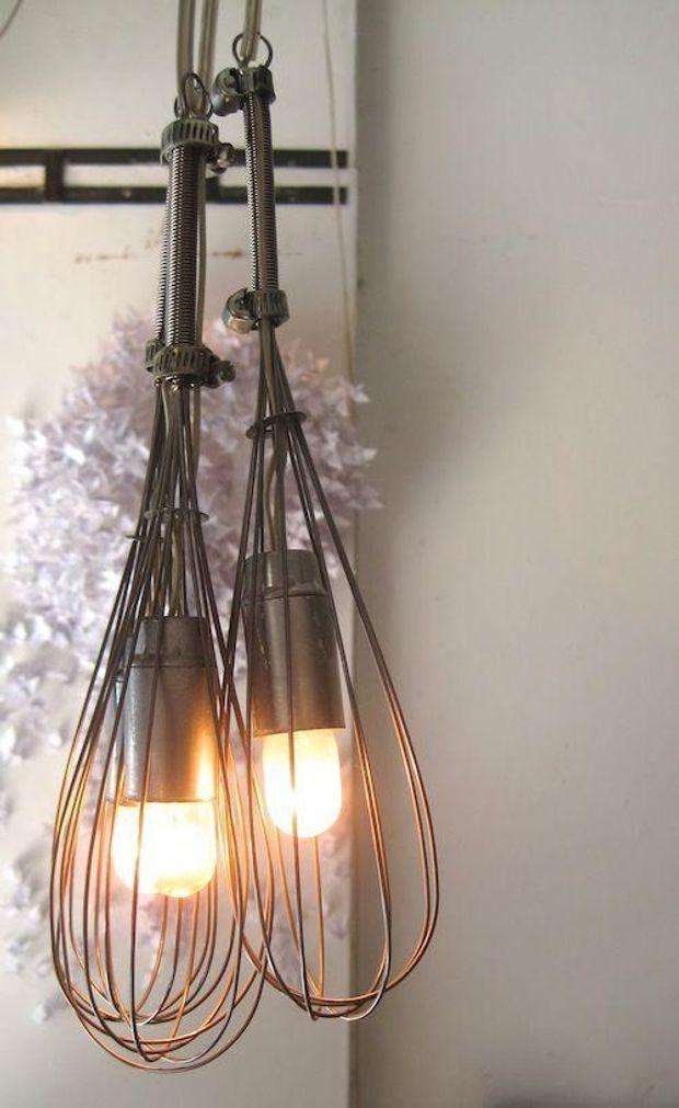 Светильники своими руками из подручных материалов мастер класс