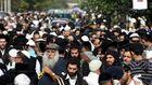 Полиция усиливает меры безопасности из-за паломников-хасидов в Умани