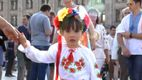 У Києві відбувся масовий парад вишиванок