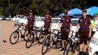Хмельницькі міліціонери осідлали велосипеди