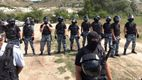В Криму озброєні правоохоронці оточили учасників патріотичної акції
