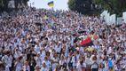 Одесситы замахнулись на установление патриотического рекорда