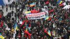 """Близько 5 тисяч людей зібралися на марш """"За імпічмент"""" в Києві"""