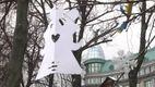 В Киеве к мемориалу Героям Небесной Сотни неравнодушные приносили ангелочков