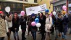 Во Львове театралы устроили интересный флешмоб накануне дня рождения Леси Украинки