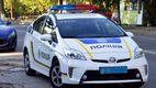 Во Львовской области пьяный водитель протаранил служебную машину патрульных