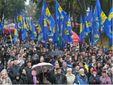 Частина мітингувальників розійшлася з площі перед ЦВК