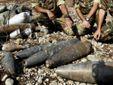 Кінах: Безпеці українцям загрожує 1,6 млн тонн боєприпасів