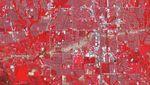 Фото дня: слід від руйнацій торнадо видно з космосу