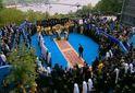Під час молебню на Володимирській гірці охорона відбирала у прихожан воду і калачі