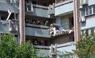 Власник квартири, де стався вибух в Луганську, дає свідчення