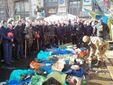 Евромайдан борется 3 месяца: от мирного протеста до десятков погибших (Фото)