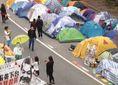 Лідери протестів у Гонконгу прийшли здаватися в поліцію