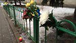 В Москве несколько десятков человек пришли к украинскому посольству