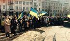 Харьковчане прощаются с погибшим в результате теракта активистом