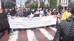 Женщины Марокко вышли на марш