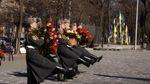 В Одессе военные моряки с почестями отдали дань Шевченко