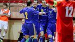 Футзал. Сборная Украины начала отбор на Евро-2016 с победы