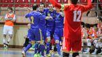 Футзал. Сборная Украины добывает путевку на Чемпионат Европы-2016