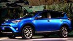 В Нью-Йорке дебютировала обновленная Toyota RAV4
