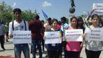 Харьковские иностранцы на митинге требовали расследования кровавой резни
