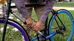 Первый в мире велосипед, который невозможно украсть