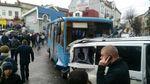 Масова ДТП на Тернопільщині: не розминулись автобус та 4 автомобілі