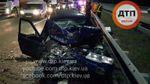 Масштабна ДТП у Києві: зіткнулися 4 автомобілі, є постраждалі