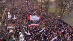 Волна массовых протестов прокатилась по Европе и Ближнему Востоку