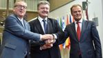 ТОП-новости: Видео ссоры Авакова и Саакашвили, визит Порошенко в Брюссель