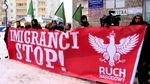 Напуганные мигрантами-мусульманами поляки вышли на очередной митинг