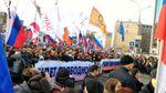 """Тисячі людей у Москві вийшли """"за нашу і вашу свободу """""""