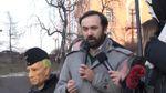 На Майдане Независимости беглецы из России выложили имя Бориса Немцова