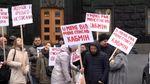 Тяжелобольные украинцы пикетировали Кабмин