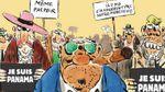 Charlie Hebdo створив дотепну карикатуру про скандал з офшорами