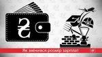 Як змінилися зарплати у різних галузях: пізнавальна інфографіка