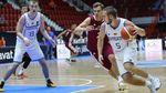 Украина вышла в четвертьфинал Евробаскета