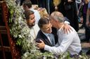 Приспешников Януковича заметили на молебне в Киеве