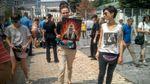 Патріарх Кирил палає у пеклі: мовчазний протест журналістки завершився затриманням