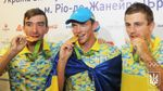 Как в Украине встретили олимпийских чемпионов: появились фото