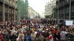 Масштабный антиправительственный митинг прошел в Будапеште