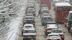 Через снігопад у Києві обмежать рух транспорту