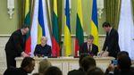 О чем договорились Порошенко и Грибаускайте за закрытыми дверями