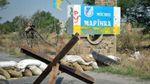 В центрі Мар'їнки вибухнув снаряд – поранено чоловіка