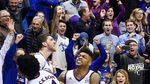 Невероятная реакция американских фанатов на победный бросок украинского баскетболиста