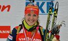 Украинская биатлонистка блестяще победила россиянок на Чемпионате Европы