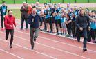 Кейт Мидлтон и принцы выясняли, кто быстрее бегает: фоторепортаж