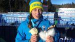 Украинская биатлонистка завоевала медаль на престижных соревнованиях