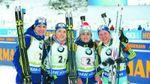 ЧМ по биатлону: Украинки завоевали невероятное серебро в эстафете