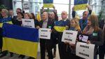 Європейські дипломати підтримали Україну у флешмобі
